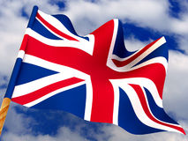 Bandeira. Reino Unido fotos de stock