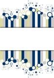 Bandeira retro   Fotos de Stock Royalty Free