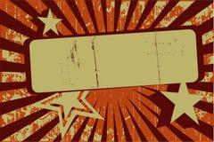 Bandeira retro de Grunge Imagens de Stock Royalty Free