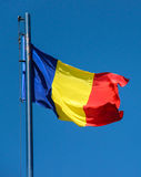 Bandeira romena Fotos de Stock Royalty Free
