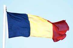 Bandeira romena foto de stock royalty free