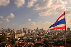 Bandeira Tailândia Imagem de Stock