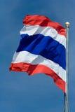 Bandeira tailandesa Fotos de Stock
