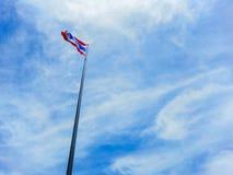 Bandeira tailandesa Imagens de Stock
