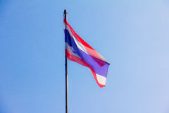 Bandeira tailandesa Imagem de Stock