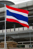 Bandeira tailandesa nacional imagens de stock