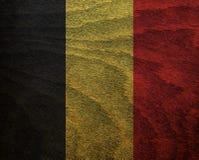 Bandeira Textured madeira - Fotografia de Stock