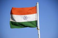Bandeira Tricolor indiana Imagem de Stock Royalty Free