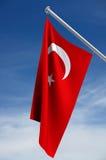 Bandeira turca ilustração stock