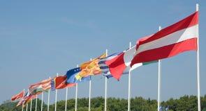 Bandeiras Imagens de Stock Royalty Free