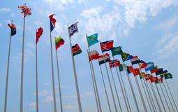 Bandeiras Fotos de Stock