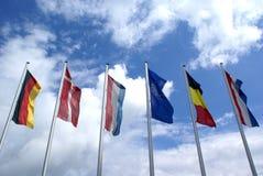 Bandeiras. imagens de stock