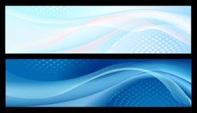 Bandeiras abstratas Imagens de Stock