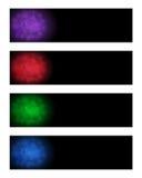 Bandeiras abstratas Imagem de Stock Royalty Free