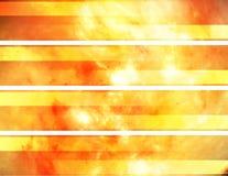 Bandeiras abstratas Foto de Stock