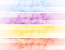Bandeiras abstratas Fotografia de Stock
