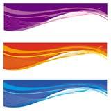 Bandeiras abstratas Imagem de Stock