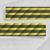 Bandeiras abstratas com lugar para seu texto Fotos de Stock Royalty Free