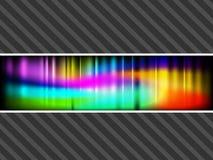 Bandeiras abstratas do vetor ilustração do vetor