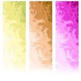 Bandeiras abstratas verticais do Web Imagens de Stock