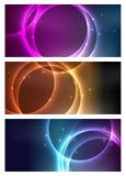 Bandeiras cósmicas Imagem de Stock Royalty Free