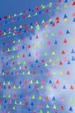 Bandeiras coloridas Imagem de Stock Royalty Free
