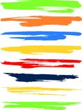 Bandeiras coloridas. Imagem de Stock