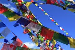 Bandeiras coloridas da oração Imagens de Stock Royalty Free