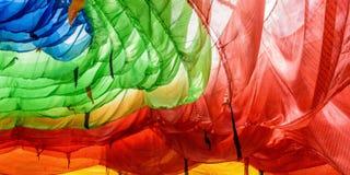 Bandeiras coloridas da oração Foto de Stock Royalty Free