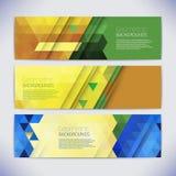Bandeiras coloridas do mosaico do vetor Fotos de Stock
