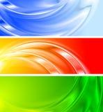 Bandeiras coloridas (NENHUM engranzamento do inclinação) ilustração royalty free