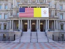 Bandeiras da cooperação Foto de Stock Royalty Free