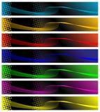 Bandeiras da cor ilustração royalty free