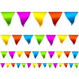 Bandeiras da estamenha Fotos de Stock
