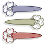 Bandeiras da flor Imagem de Stock