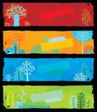 Bandeiras da natureza Fotografia de Stock Royalty Free