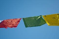 Bandeiras da oração Foto de Stock Royalty Free