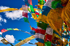 Bandeiras da oração Imagem de Stock Royalty Free