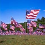 Bandeiras da relembrança foto de stock