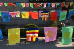 Bandeiras da religião Fotografia de Stock Royalty Free
