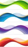 Bandeiras da Web Imagem de Stock