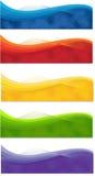 Bandeiras da Web ilustração stock