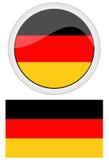 Bandeiras de Alemanha Fotos de Stock