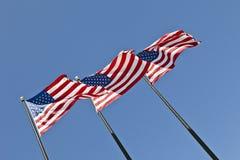 Bandeiras de América Foto de Stock Royalty Free