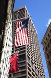 Bandeiras de Boston imagens de stock royalty free