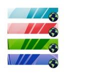 Bandeiras de Digitas/   ilustração do vetor