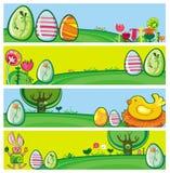 Bandeiras de Easter Foto de Stock Royalty Free