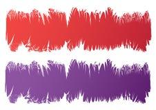 Bandeiras de Grunge Ilustração Royalty Free