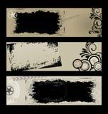 Bandeiras de Grunge Fotos de Stock