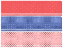 Bandeiras de intervalo mínimo Imagem de Stock Royalty Free
